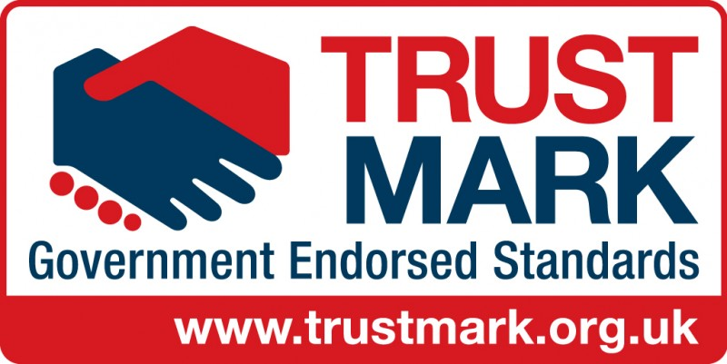 """""""Trust Mark Government Endorsed Standards www.trustmark.org.uk"""" Trust Mark Logo, Modern Kitchen fitting in progress, green walls, white dated worktops, exposed fittings, power tools, KL and Sons Building Services, Devizes, Marlborough, Calne, Bath"""