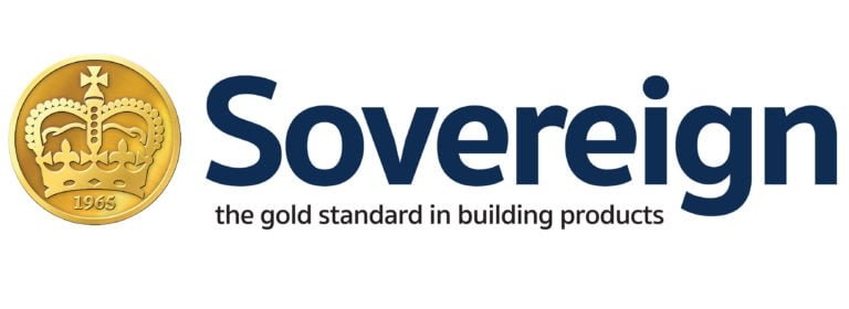 """""""Sovereign, the gold standard in building products"""" Sovereign logo, KL and Sons Building Services, Devizes, Marlborough, Calne, Bath"""